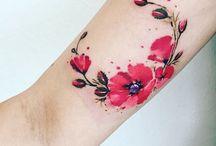 Tatouage fleur