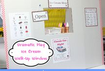 Dramatic Play / Ideas for creating a fun and educational dramatic play center in your preschool or pre-k classroom.