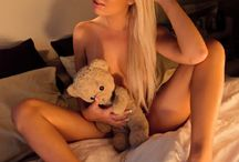 Teddy Bear Romance / A woman's love affair with her teddy bear. Message me to become a contributor to this board.