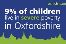 Oxfordshire facts and figures / The situation in Oxfordshire - social problems and needs, and why our donors choose to help