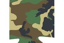 Ideas in Camo / Want a Camo products for your event here are some ideas.