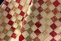 Mantas / Mantas de patchwork