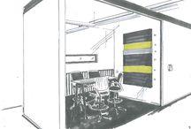 Visionszeichnungen                      Raum und Event / Handgefertigte Entwurfszeichnungen