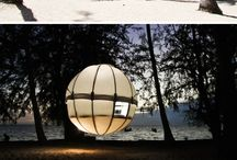 Glamping / Being outdoors in creative ways / by Betsy Steinbaum