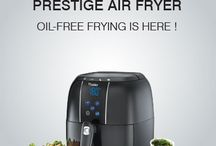 How does an air fryer work to manage oil free frying.