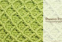 crochet mønstre video