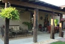 Outdoor living Covered Pogoda's