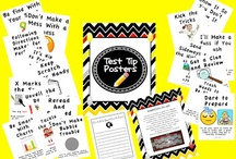 Testing Treats / Ideas to reward & motivate students to perform on tests