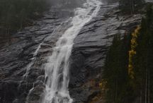 Waterfalls in Southern Norway