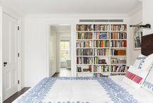 Camera da letto biblioteca