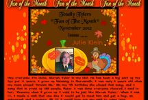 FAN OF THE MONTH / by TOTALLY TYLER