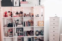 Desk/Make-up Organizing