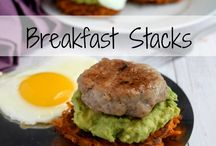 WHOLE FOODS BREAKFAST / Real food recipes, packed with protein for a healthy, energizing breakfast.