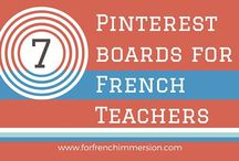 French boards for french teachers