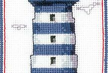 LIGHTHAUSE *CROSS STITCH-EMBROIDERY