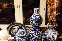 """"""" I Got THE BLUES"""".                                                 I love Blue&White! If you have any, please share!! Your """"blues"""" with me!"""