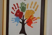 Handprint Crafts / by SheriAnne Rao Giacomo