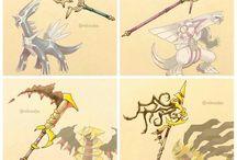 espadas Pokémon