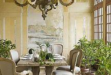 Столовая французский стиль / Столовые комнаты во французском стиле от мебельного салона Du Bout Du Monde