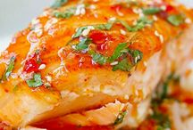Salmon & Seafood / by Becky Kapfer