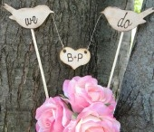 cake toppers / Top 'o the Cake to you... www.bisousweet.com