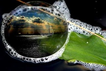 """I """"dew"""" love bubbles / Bubbles, dew drops & rain"""