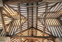 Oak Frame Interiors / A collection of interesting oak frame interiors