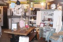 our adorable shop-vintage decor / Vintage charm for home and garden. Located in Boise,Idaho since 2007.  Owned by Lesli Johnson Fieselman and Lori Kerby.