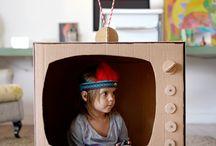 Crafts for kids / Coleção de fotos, moldes e ideias de artesanatos para fazer com crianças.