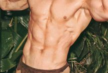 Handsome, Muscular Men