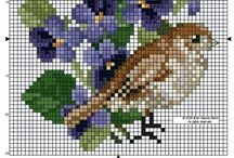 crossing stitch