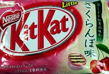 Kit Kat Obsession / Since visiting Japan in 2010, I have become obessed with Kit Kats and their various flavors. Known as 'Kitto Katto' in Japan, this little treat is really unique to the area. The flavors are limited to seasions and limited markets and stores within Japan. The Nestle Japan Company has produced almost 100 different flavors.  'Kitto katto' sound very similar to the words that mean 'you will succeed' in Japanese. Maybe that's why Kit Kats are so famous in Japan. AWESOMENESS is all I can say.  / by Sweet Tea (토니타)