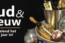 Oud & Nieuw / Met Oud & Nieuw drinkt u natuurlijk champagne. Geserveerd met oesters of de ouderwets gezellige oliebollen en appelbeignets. Ook bieden wij u de keuze uit diverse soorten wijnglazen, karaffen of glaswerk voor andere dranken! Namens Oldenhof een heel gelukkig nieuwjaar!