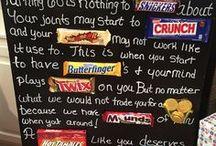 Candy Bar Sayings
