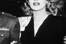 The muse: Marlene Dietrich