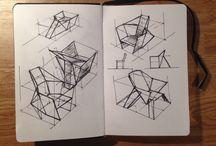 Furniture sketches