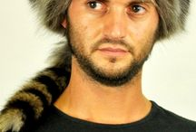 Authentic coonskin cap / Authentic coonskin cap at Amifur.com. Real raccoon fur hat, unisex, ideal for both women and men. Handmade in Italy.  www.amifur.com