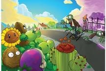 Plants vs. Zombies Wall Graphics