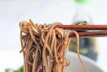 Zoodles of noodle dishes
