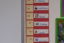 Visual timetables