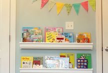 The kids rooms / Book shelfs