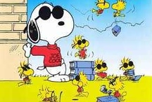 Snoopy & the Peanuts Gang / by Lisa Marquez