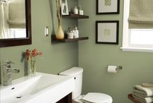 Decor - green bathroom makeover