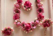 Flowers jewelry