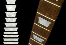 "Glitter / inlay sticker ""Glitter"" guitar/ukulele decals"