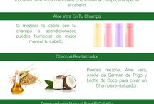 Tratamientos Para El Cabello / Tratamientos naturales, caseros remedios y mascarillas para el cabello o el pelo.