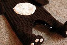 Panda-Baby / Kindermode