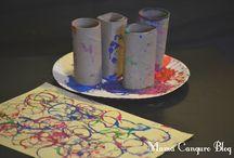 Manualidades Mamá Canguro Blog / Manualidades para niños www.mamacanguroblog.com