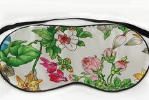 Eye Masks / Improve your sleep quality even more with our Mulberry Silk Eye Masks. Available in funky designs. Enjoy a daytime nap, travelling somewhere or just need greater darkness while you sleep - this is the answer. And bonus - see those unwanted eye wrinkles disappear :)