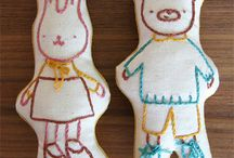 výšivky - embroidery